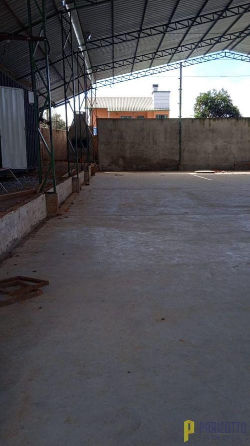 Pavilhão  Comercial, Alvenaria