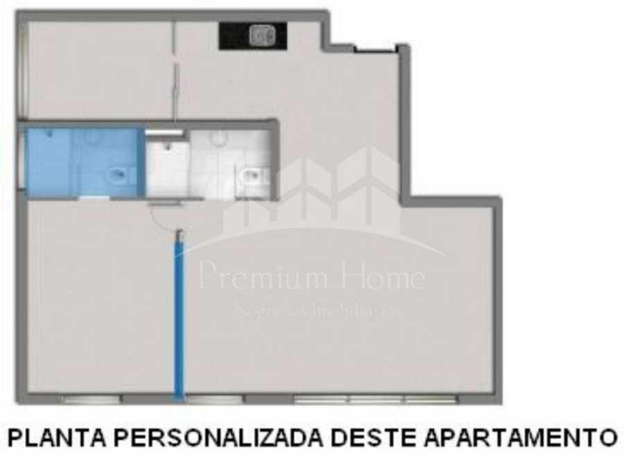 Apartamentos, 1 Dormitório